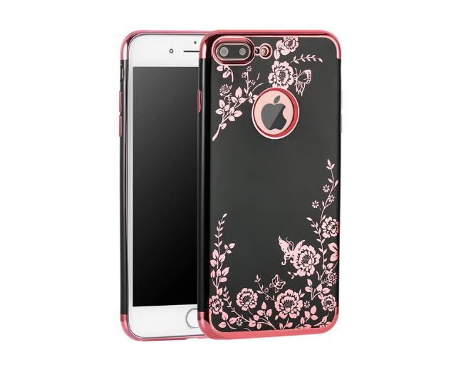 iPhone 6 / 6s Hoesje Zwart x Roze
